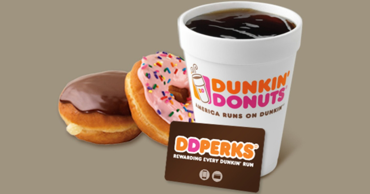 DD Perks for Dunkin' Donuts