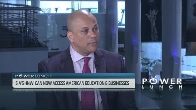 Power Lunch CNBC Africa Rogelio Caceres
