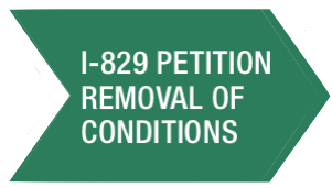 Green I-829 Petition of Removal of Conditions Arrow
