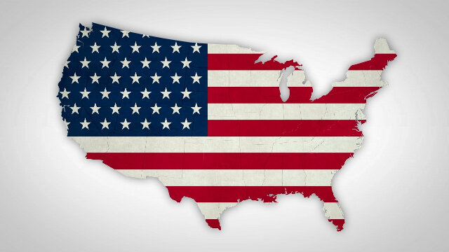 United States Puzzle from Individual States