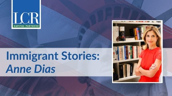 Anne Dias Immigrant Story