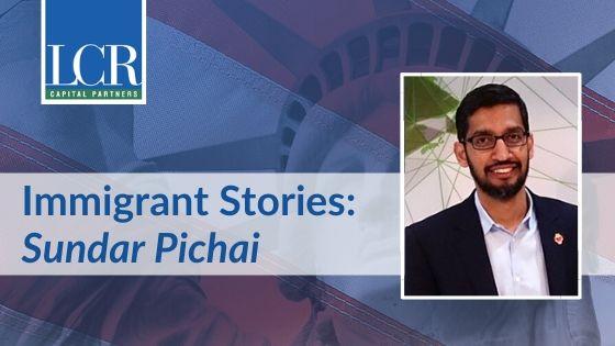 Sundar Pichai Immigrant Story