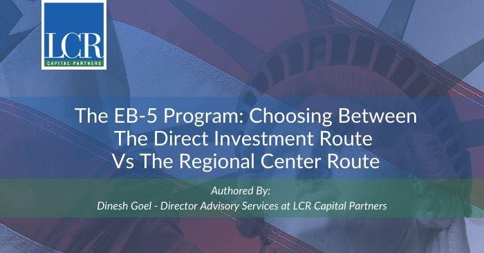 Direct versus Regional Center EB-5