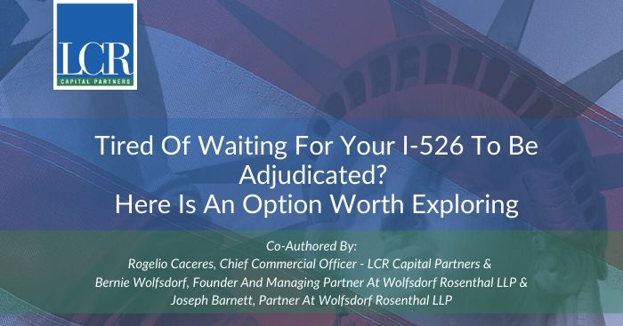 Tired of Adjucated I-526