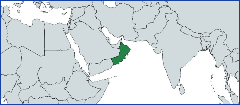 oman map green